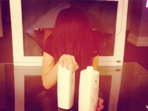 原來貞子洗完頭髮後  根本是隱藏版女神啊